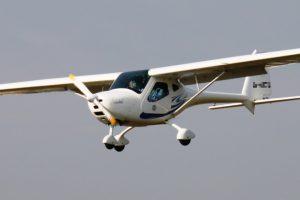 Remos G3 mit gesetzten Landeklappen